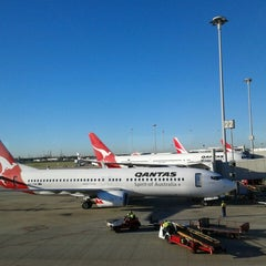 Photo taken at Brisbane Domestic Terminal by Rocky T. on 5/16/2013