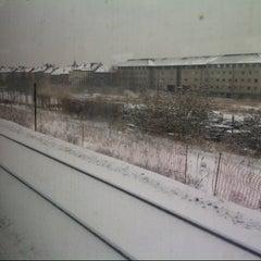 Photo taken at Trein Gent > Antwerpen by Fay v. on 1/15/2013