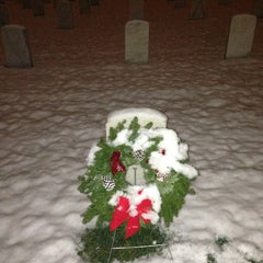 Photo taken at Wood National Cemetery by Paul T. on 12/19/2012