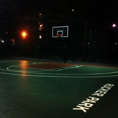 Photo taken at Rucker Park Basketball Courts by Gorka M. on 3/3/2013