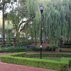 Photo taken at Parque Arboledas by Luis O. on 7/5/2013