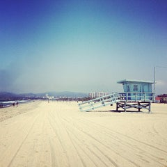 Photo taken at Venice Beach by Vicki T. on 6/14/2013