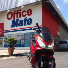 Photo taken at Office Mate by Biere S. on 7/5/2014