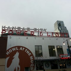 Photo taken at Kansas City Power & Light District by Robert J. on 11/30/2012