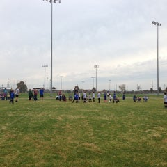 Photo taken at Fair Acres Sports Complex by Greg A. on 10/22/2012