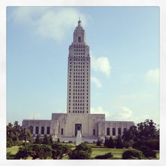 Photo taken at Louisiana State Capitol by Courtney P. on 5/21/2013