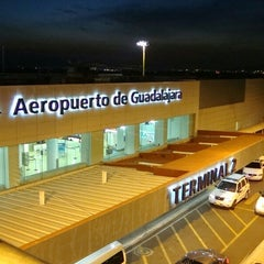 "Photo taken at Aeropuerto Internacional de Guadalajara ""Miguel Hidalgo y Costilla"" (GDL) by BETO Y. on 5/12/2013"