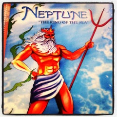 Photo taken at Neptune Diner by Bev on 3/1/2013