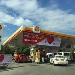 Photo taken at Shell by noemi d. on 2/9/2016