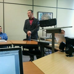 Photo taken at Tyndale Theological Seminary by Tommi K. on 11/23/2012