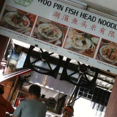 Photo taken at Woo Pin Fish Head Noodles by GL N. on 10/26/2012