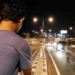 Photo taken at Dewa Ruci Statue (Simpang Siur Roundabout) by Tony S. on 11/15/2015