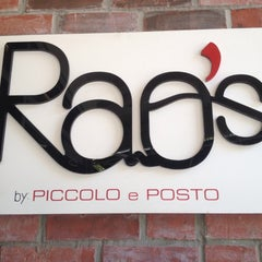 Photo taken at Rao's by Piccolo e Posto by Fefanator E. on 8/25/2013