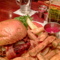 Photo taken at Braveheart Highland Pub & Restaurant by Scooter on 3/29/2015