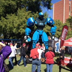 Photo taken at South Oval by Joy P. on 10/5/2013