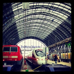 Photo taken at Frankfurt (Main) Hauptbahnhof by Leigh Ann S. on 6/9/2013