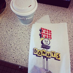 Photo taken at Yum Yum Donuts by sandy p. on 1/30/2012