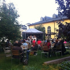 Photo taken at Kulttuuritehdas Korjaamo by Bogdana G. on 8/25/2012