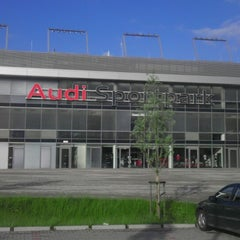 Photo taken at Audi Sportpark by Kemal E. on 5/22/2013