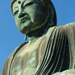 Photo taken at 鎌倉大仏 (Great Buddha of Kamakura) by yumi on 12/16/2012