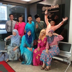 Photo taken at Maybank Premier Wealth Centre by Asseq A. on 9/18/2015