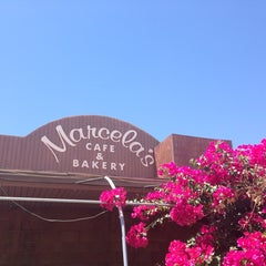Photo taken at Marcela's Cafe & Bakery by Carrie E. on 6/17/2013