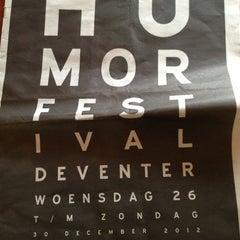 Photo taken at Deventer Schouwburg by Riska P. on 12/29/2012