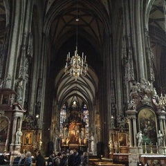 Photo taken at Stephansdom | St. Stephen's Cathedral by Andrea R. on 1/25/2013