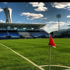 Photo taken at Stade Saputo by Man_Used👽👾👽 on 10/12/2013