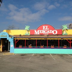 Photo taken at El Mercado by Charles S. on 1/23/2013