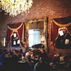 Photo taken at La Creperie Cafe by Dariela C. on 11/25/2012