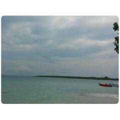 Photo taken at Tanjung Lesung by hastyn a. on 6/15/2014