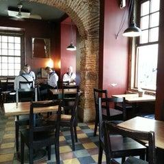 Photo taken at Cruzes Credo Café by Catherine on 7/14/2013
