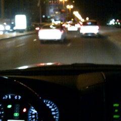 Photo taken at تقاطع البلاجات وشارع المطاعم by no foursqure anymore A. on 12/1/2012