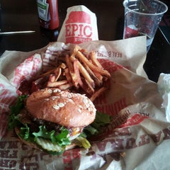 Photo taken at Epic Burger by Peter H. on 7/4/2013