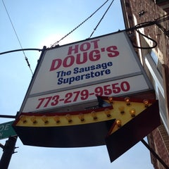 Photo taken at Hot Doug's by Berj A. on 5/18/2013
