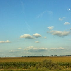 Photo taken at Cornfield in Indiana by Leslie C. on 9/2/2013