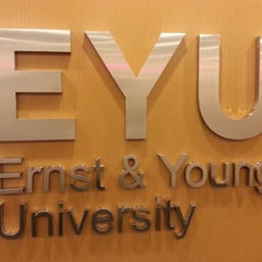 Photo taken at Ernst Young University by Elton B. on 5/19/2014