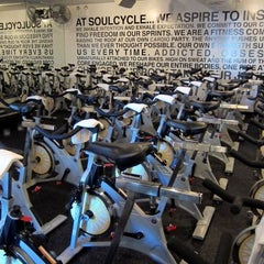 Photo taken at SoulCycle NoHo by Spotted by Locals - city guides by locals on 10/1/2013