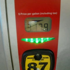 Photo taken at H-E-B Fuel by Danielle G. on 11/2/2012