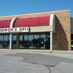 Photo taken at Cinnamon's Deli by Curtis K. on 3/26/2013