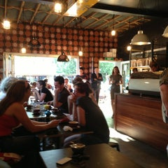 Photo taken at Lonsdale St. Roasters by Ross M. on 1/17/2013
