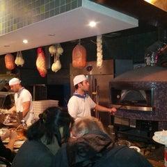 Photo taken at Pizzeria Via Mercanti by Edgar S. on 1/19/2013