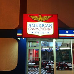 Photo taken at American Coney Island by Andrew W. on 11/27/2012