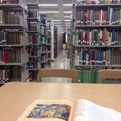 Photo taken at Mary & John Gray Library by Osama A. on 12/4/2013