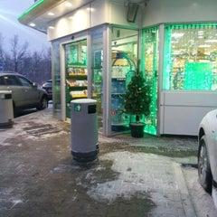 Photo taken at АЗС BP & Wild Bean Café by Михаил С. on 12/18/2012