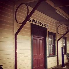 Photo taken at Swanson Station Cafe by Kazuya W. on 11/30/2013