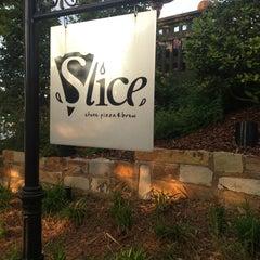 Photo taken at Slice Pizza & Brew by Dana C. on 5/9/2013