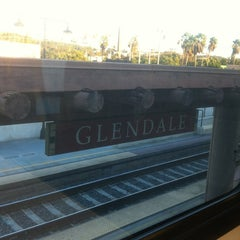 Photo taken at Metrolink Glendale Station by Abdul on 12/19/2012