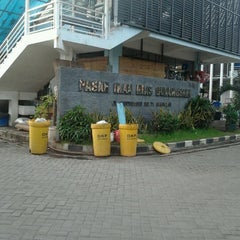 Photo taken at Pasar Ikan Hias Gunung Sari by Nucifera H. on 1/12/2013